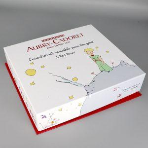 Coffret Petit Prince Assiette Cuillere Aubry Cadoret 3