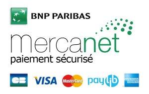 Paiement sécurisé par Mercanet BNP Paribas